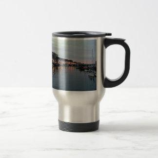 Whitby at dusk mugs