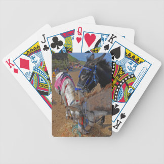 Whitby Donkeys Bicycle Playing Cards