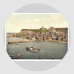 Whitby, from West Cliff, Yorkshire, England rare P