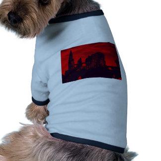 Whitby Goth Dog Tshirt