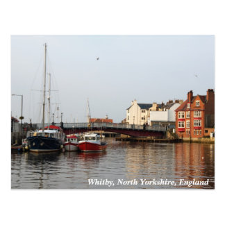 Whitby Harbor Postcard