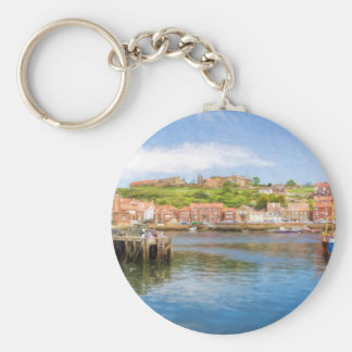 Whitby Harbour Key Ring