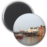 Whitby Harbour Magnet