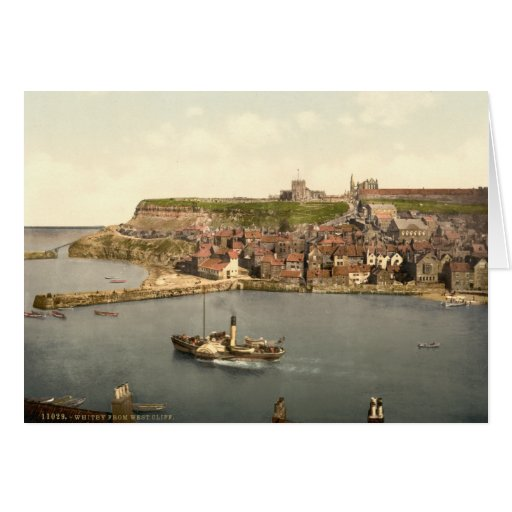 Whitby II, Yorkshire, England Greeting Card