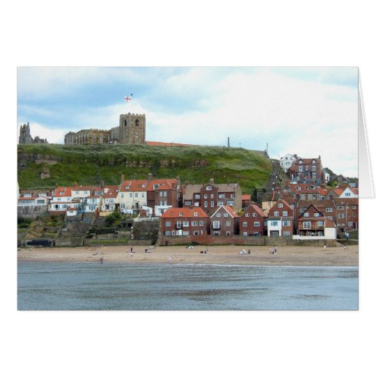 Whitby in North Yorkshire Card
