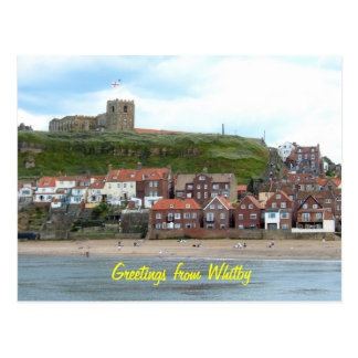 Whitby in North Yorkshire, England. Postcards
