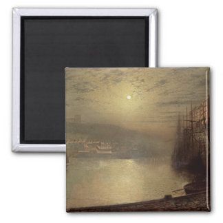 Whitby (oil on canvas) magnet