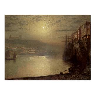 Whitby (oil on canvas) postcard