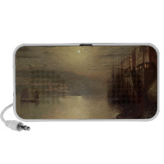 Whitby (oil on canvas) iPhone speakers