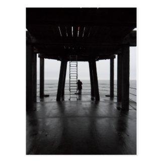 Whitby Pier Postcard