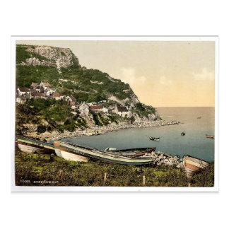 Whitby, Runswick Bay, Yorkshire, England rare Phot Postcard