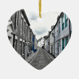 Whitby Street Ceramic Heart Decoration