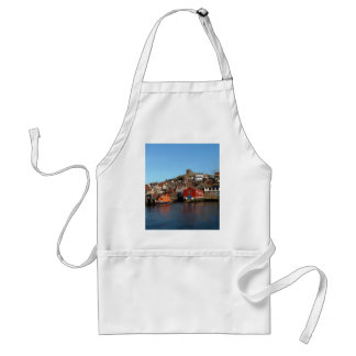 Whitby with old Lifeboat house Standard Apron