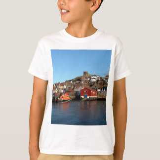 Whitby with old Lifeboat house T-Shirt