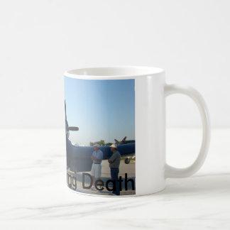 White 11 oz F4U Whistling Death II Basic White Mug