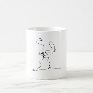 White 325 ml  Classic White Mug. On the Beach. Coffee Mug