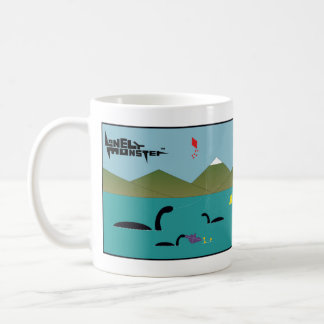 White 325 ml Mug - Tennis and Kites