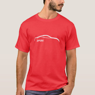 White 350z Brush Stroke T-Shirt
