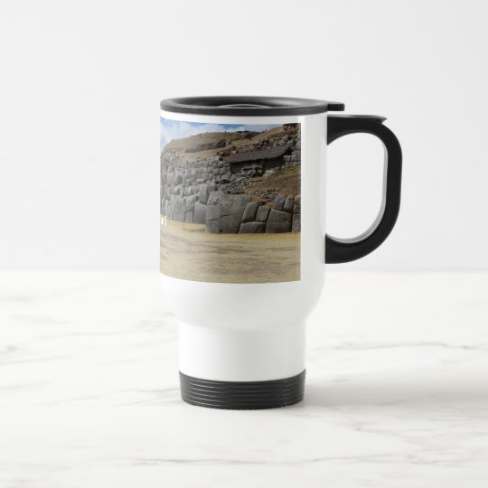 White 444 ml Travel/Commuter Mug
