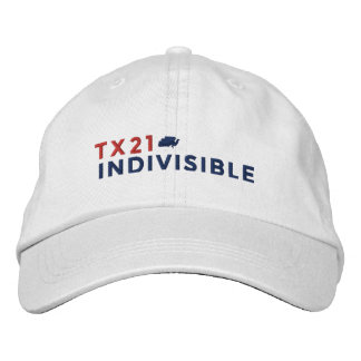 White Adjustable Cap Embroidered with Logo