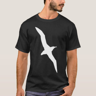 White Albatross In Flight Graphic T-Shirt