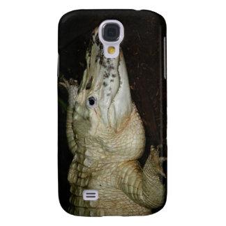 White Albino Alligator Photo , Gator  Image Galaxy S4 Case