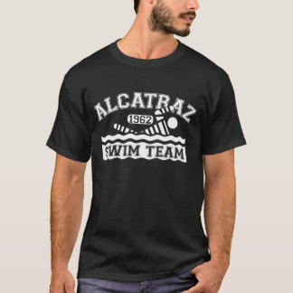 White Alcatraz Swim Team Sweatshirt