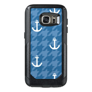 White Anchor Pattern OtterBox Samsung Galaxy S7 Case
