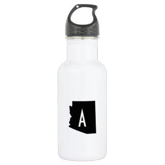 White and Black Arizona Monogram 532 Ml Water Bottle