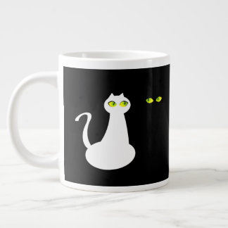 White and Black Cat Specialty Mug