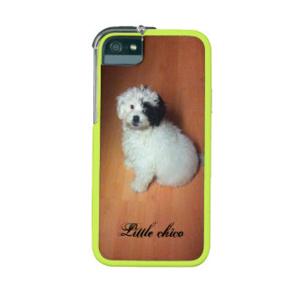 white and black Chico de Little doggy iPhonecase Case For iPhone 5/5S