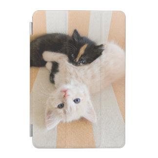 White And Black Kittens iPad Mini Cover