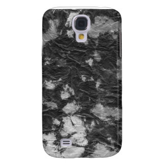 white and black wrinkled paper towel image galaxy s4 case