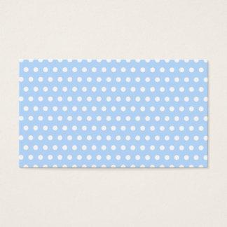 White and Blue Polka Dot Pattern. Spotty.
