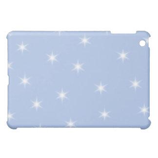 White and Blue Stars Design. iPad Mini Cover