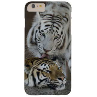 White And Brown Tigers Resting Barely There iPhone 6 Plus Case