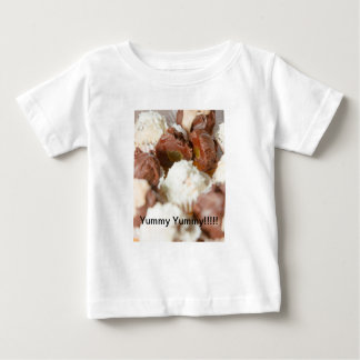 White and Dark Candy/Sweets Infant Tee Shirt