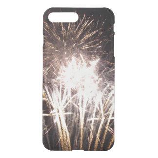 White and Gold Fireworks I Patriotic Celebration iPhone 8 Plus/7 Plus Case
