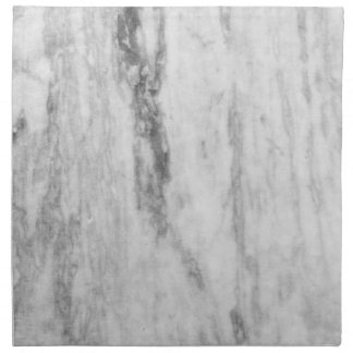 White And Gray Marble Texture Pattern Napkin