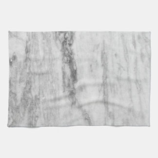 White And Gray Marble Texture Pattern Tea Towel