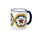 White And Green Luther Rose Mug