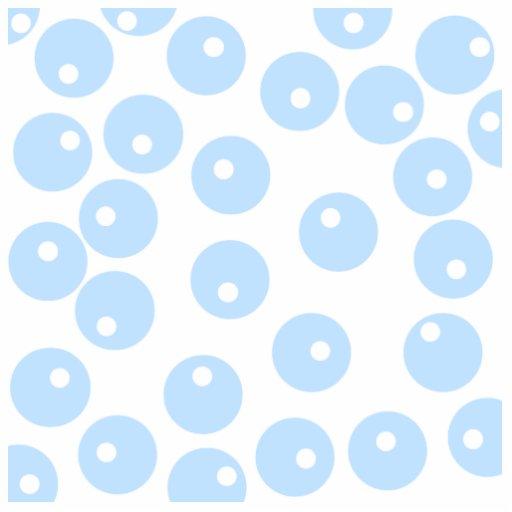 White and light blue retro pattern. Custom Photo Sculpture
