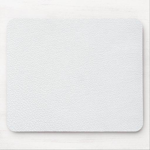 White and Light Grey Printed Pattern Mousemats