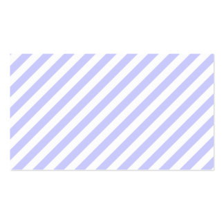 White and Light Purple Stripes Business Card