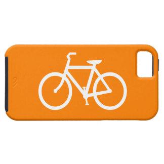 White and Orange Bike iPhone 5 Case