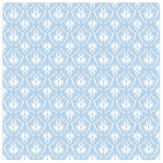 White and Pale Blue Damask Design. Cut Outs