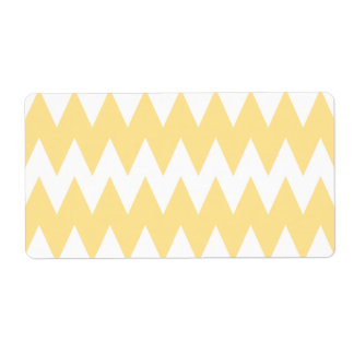 White and Pastel Yellow Zigzags.