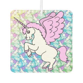 White and Pink Unicorn