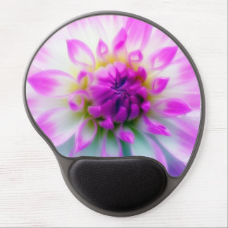 White And Purple Dahlia Mouse Pad