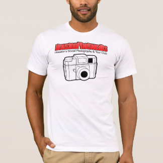White and Red, 2-Sided Holga T-Shirt